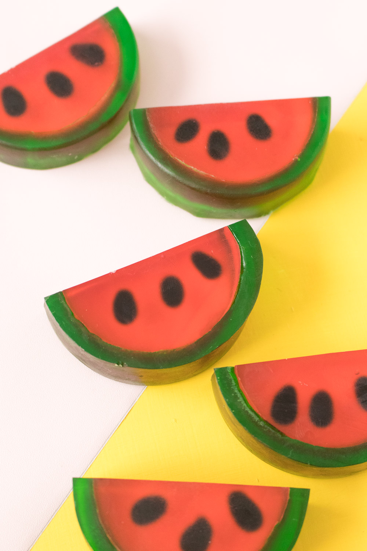 DIY Watermelon Soaps | Club Crafted