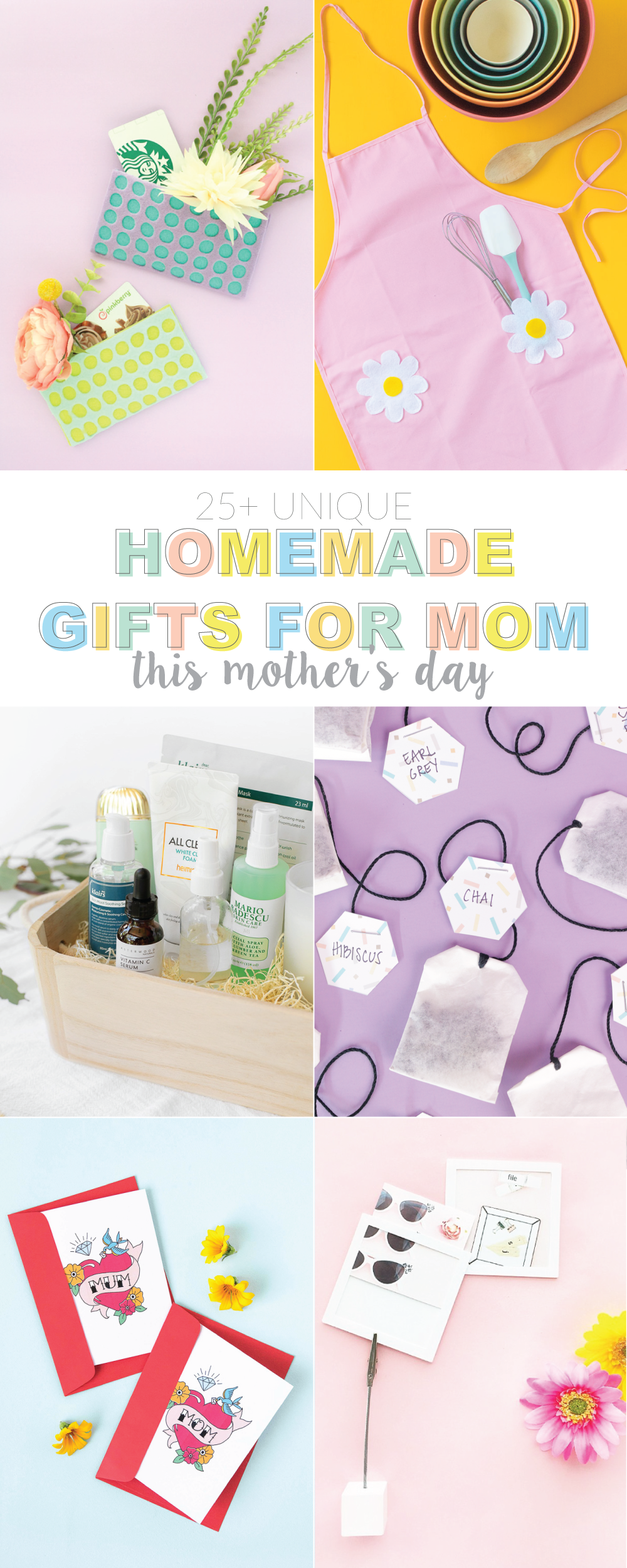 Homemade Gifts For Mom This Mother S Day Club Crafted