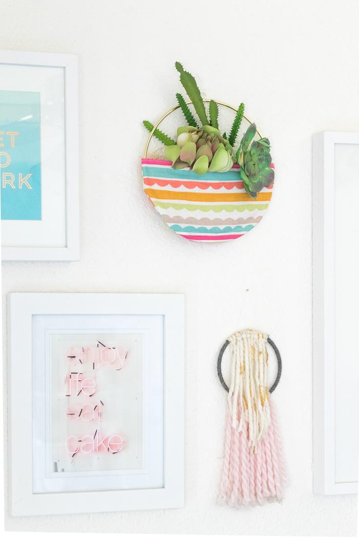 DIY Fabric Pocket Planter | Club Crafted