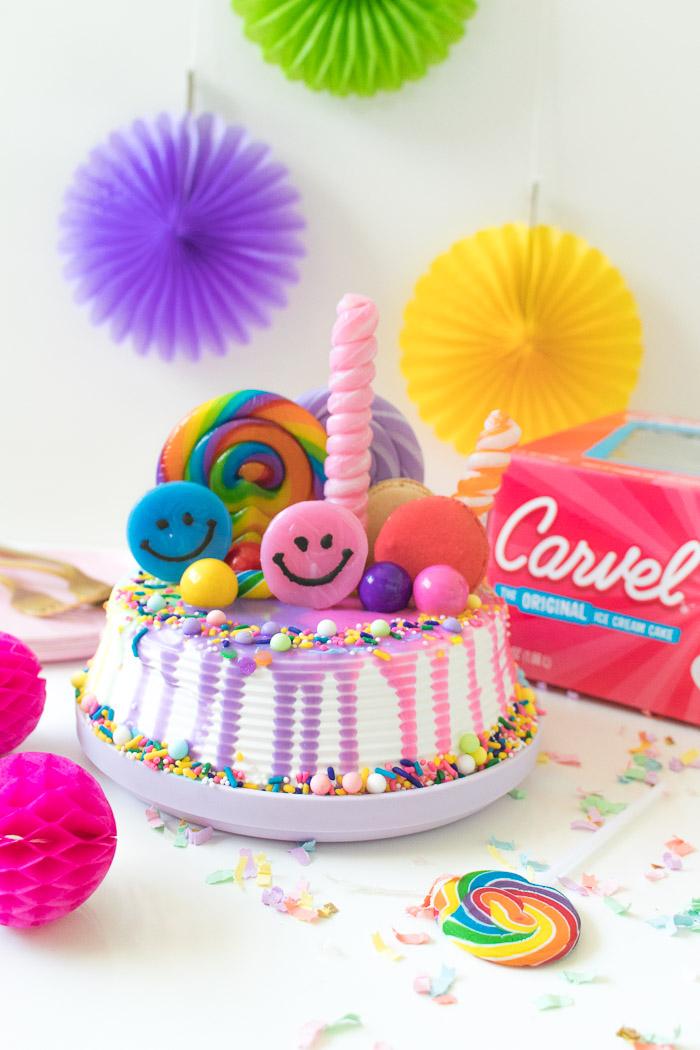 Awesome Rainbow Freak Cake Ice Cream Cake Hack Club Crafted Funny Birthday Cards Online Necthendildamsfinfo