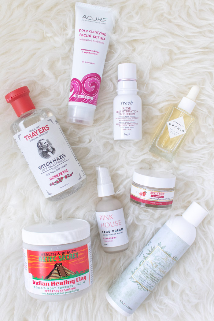 """My Favorite """"Natural"""" Skincare Products   Club Crafted"""