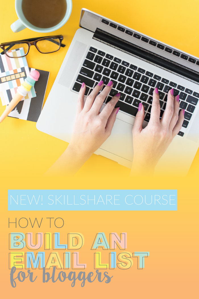 How to Build an Email List: New Skillshare Course! | Club Crafted