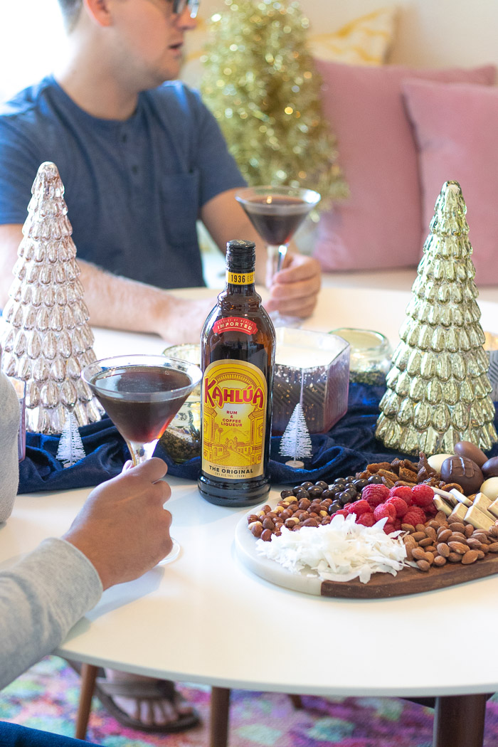 Festive Holiday Party + a Dessert Platter Inspired by Kahlúa   Club Crafted