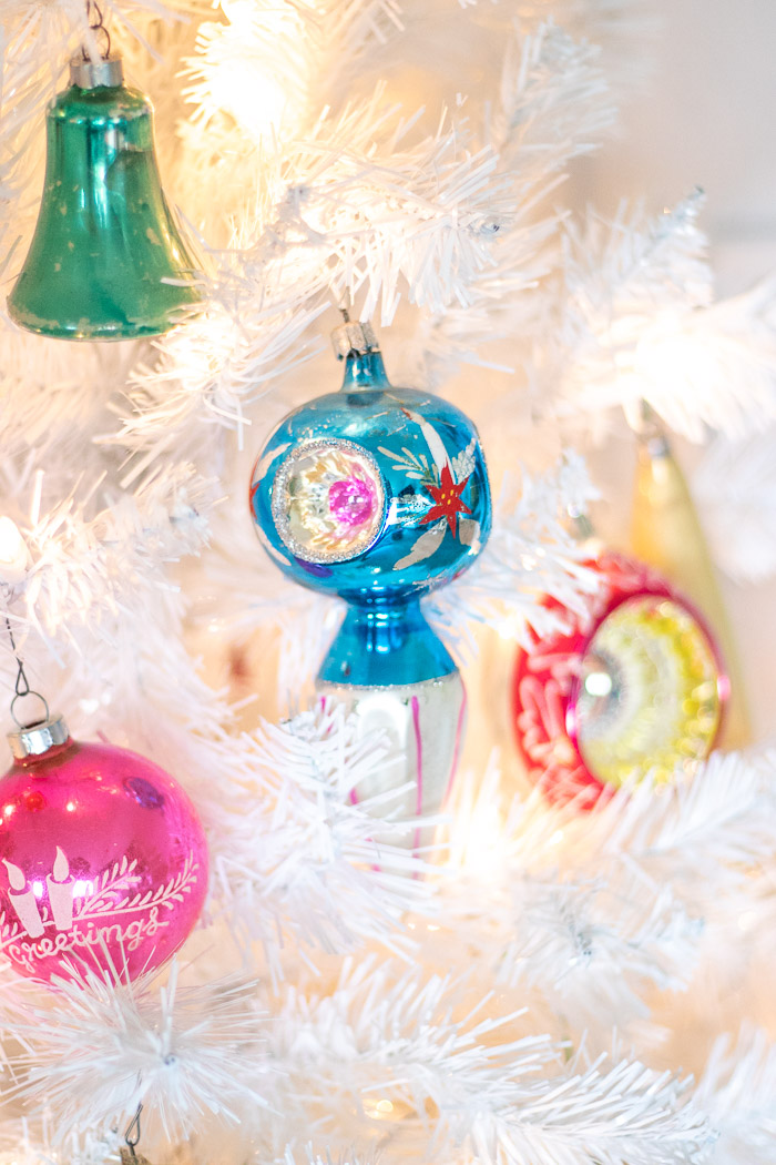 My Colorful Vintage Christmas Tree   Club Crafted