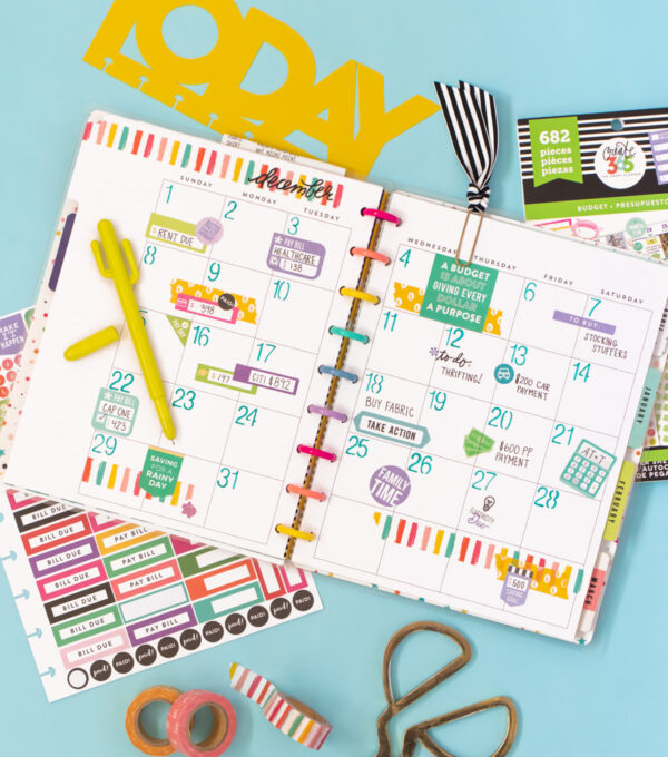 Planning My Wedding with Happy Planner // See how to use your Happy Planner from @joann for wedding planning and budgeting! I used bullet journal inspiration to track my wedding planning progress and stay on budget with the Happy Planner budget accessories! #joannpartner #handmadewithjoann #happyplanner #planning #bulletjournal #journaling #wedding #diywedding #weddingplanning #plannerinspiration #budgeting #budgetplanner