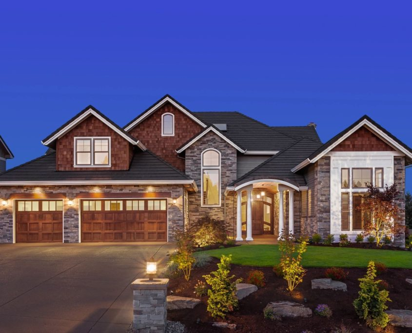 house with homeowners insurance
