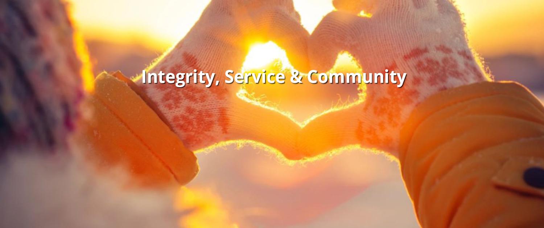 Integrity, Service & Community 2