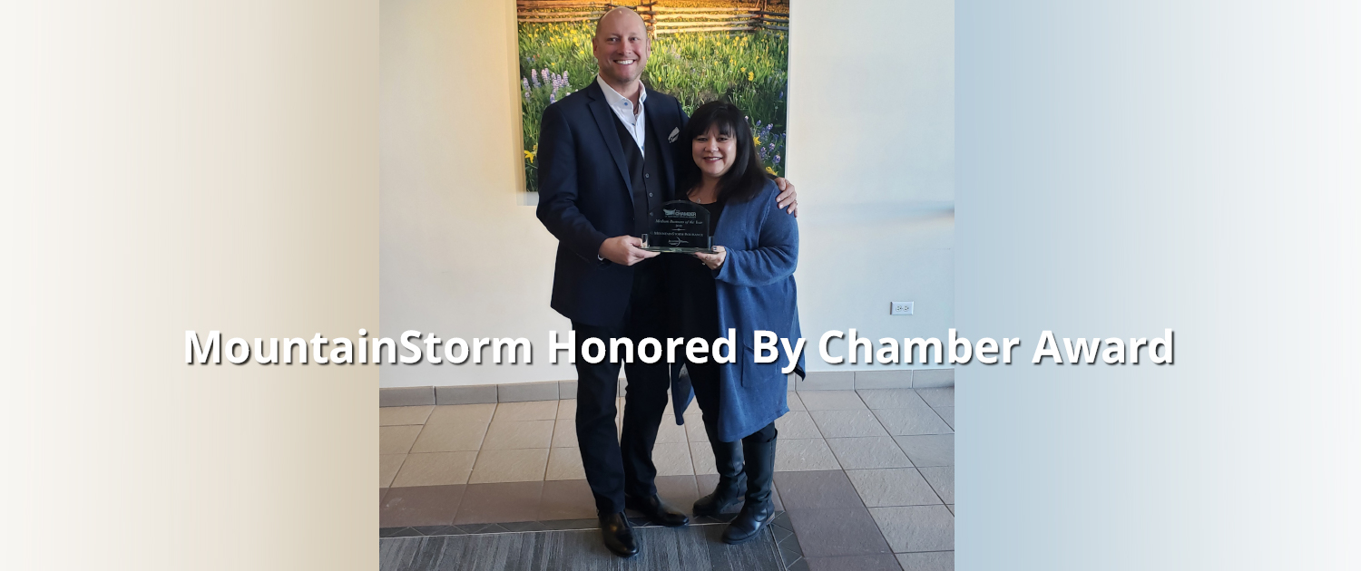 MountainStorm Honored by Chamber Award