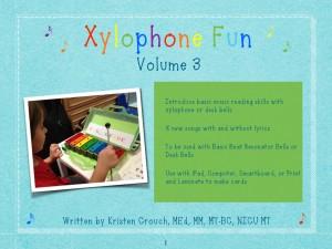 Xylophone Fun Volume 3 cover