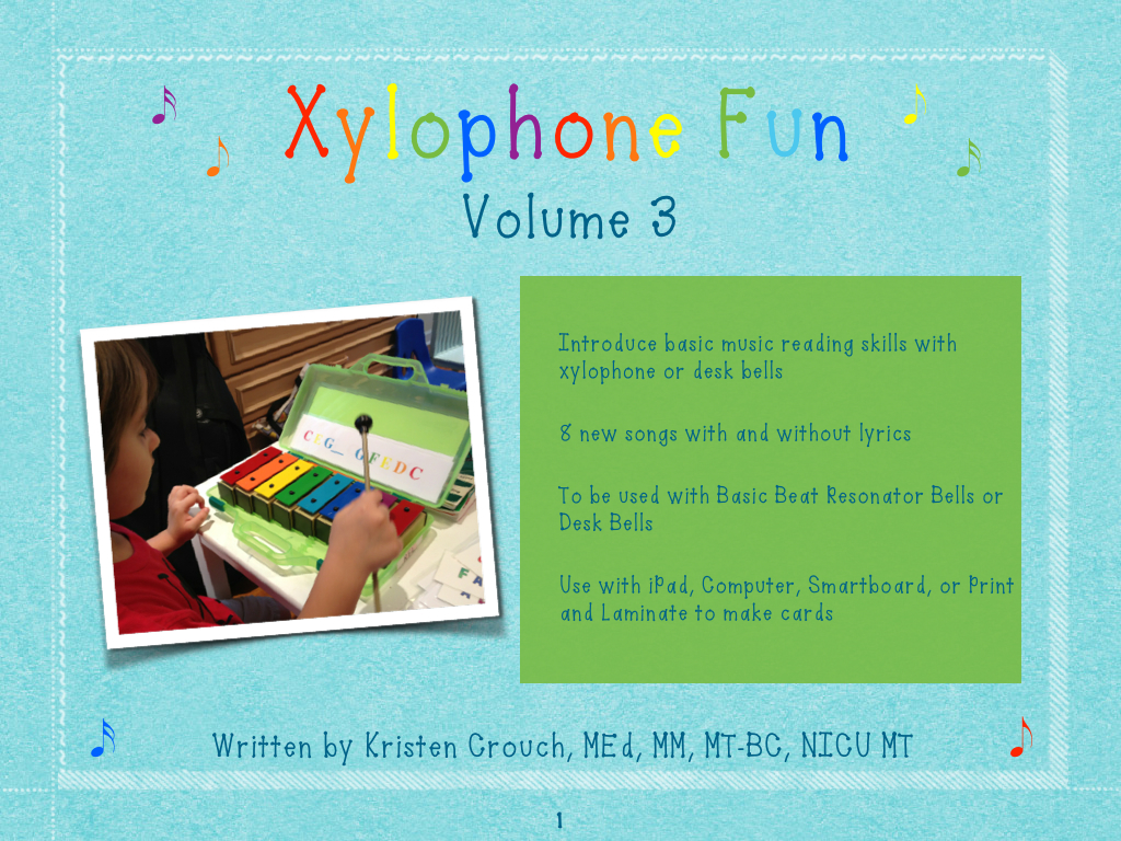 Just Released: Xylophone Fun Volume 3