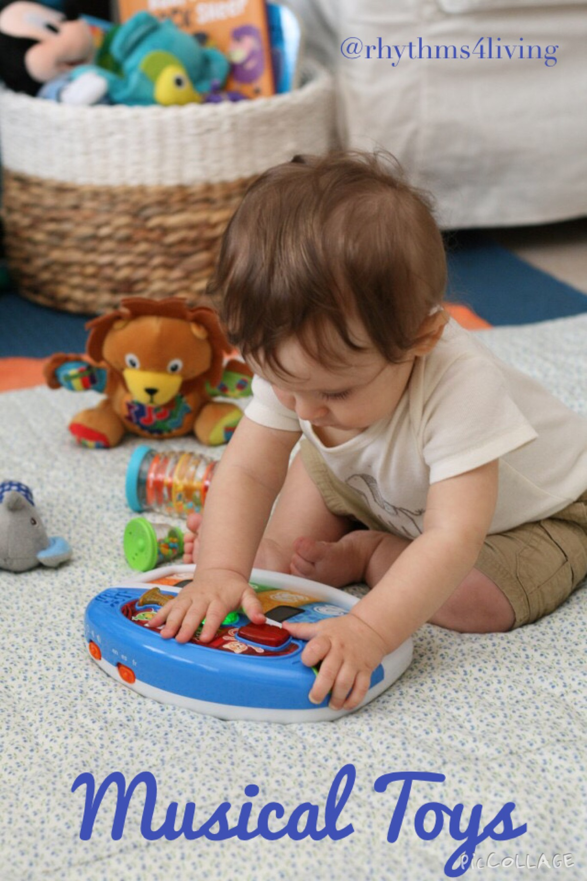How I Use Music With My Son: Part 4 – Our Favorite Musical Toys