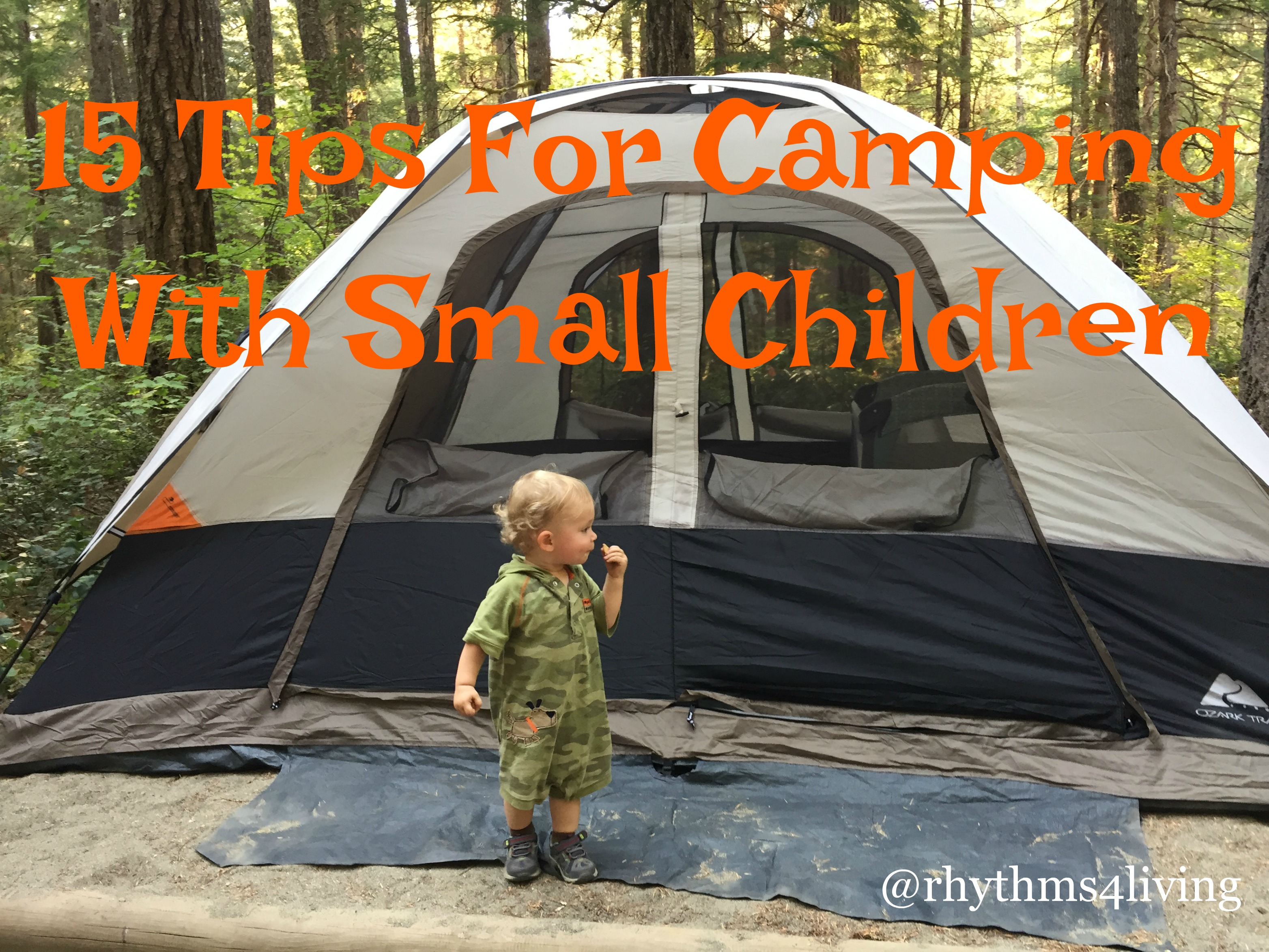 camping with small children