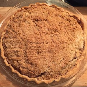 homemade apple pie, dutch crumb apple pie
