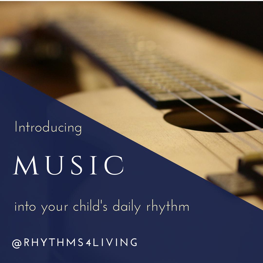 introducing music childs rhythm