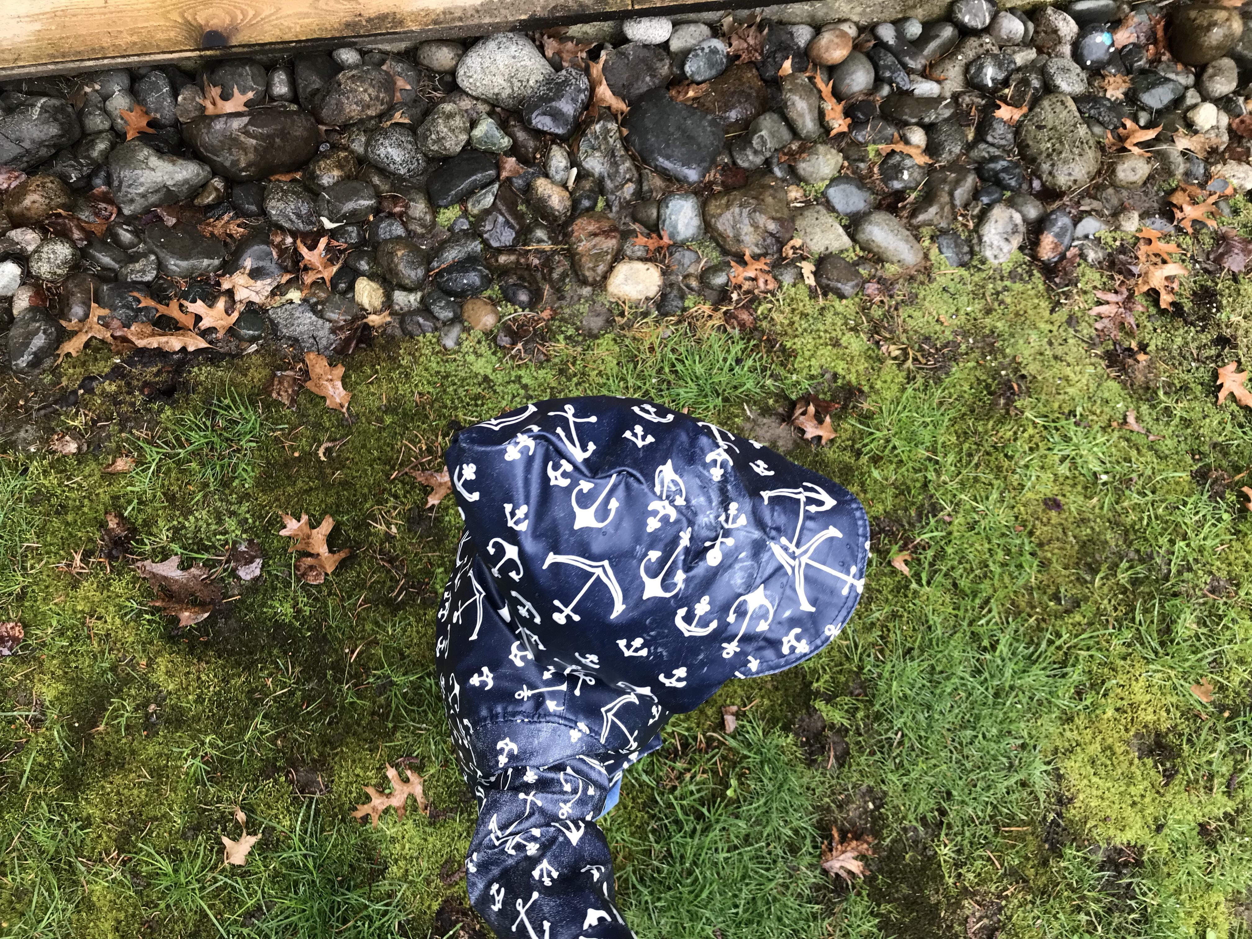 raincoats, rain boots, nature, wellness, outdoor play