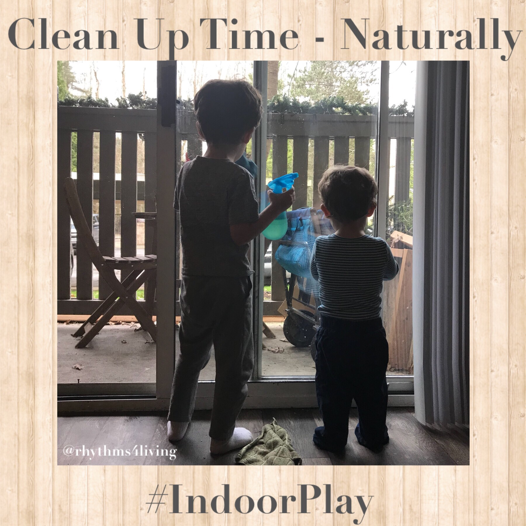 Clean Up Time, Natural cleaning