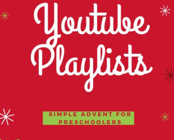 Playlists for Simple Advent for Preschoolers