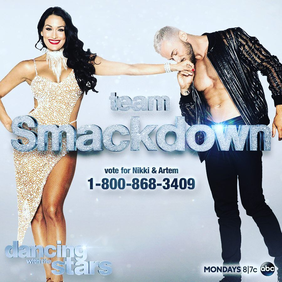 Catch Nikki Bella on Dancing With The Stars!