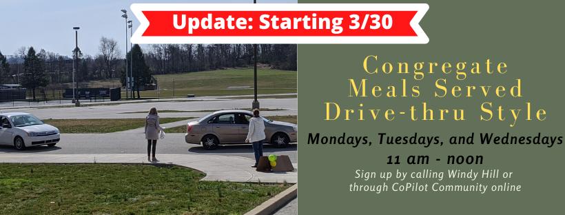 Congregate Drive-thru