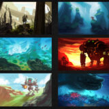 Speed Paint Thumbnails