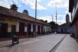 Calle comercial en el centro de Chía
