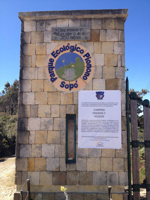 Entrada Parque Pionono