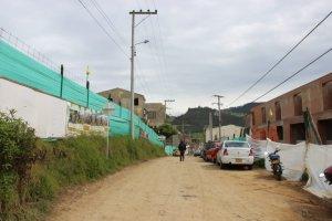 Construcción  de viviendas en el casco urbano de La Calera