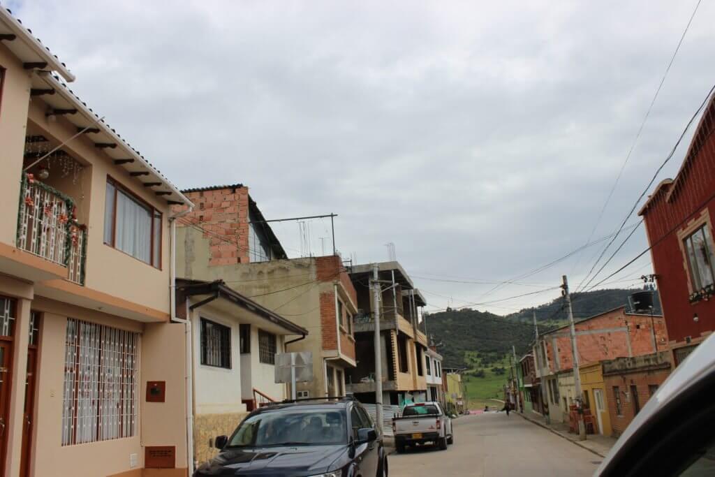 Casco urbano del municipio La Calera
