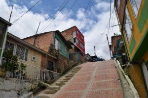 Mejoramiento de vías en el barrio El Altico