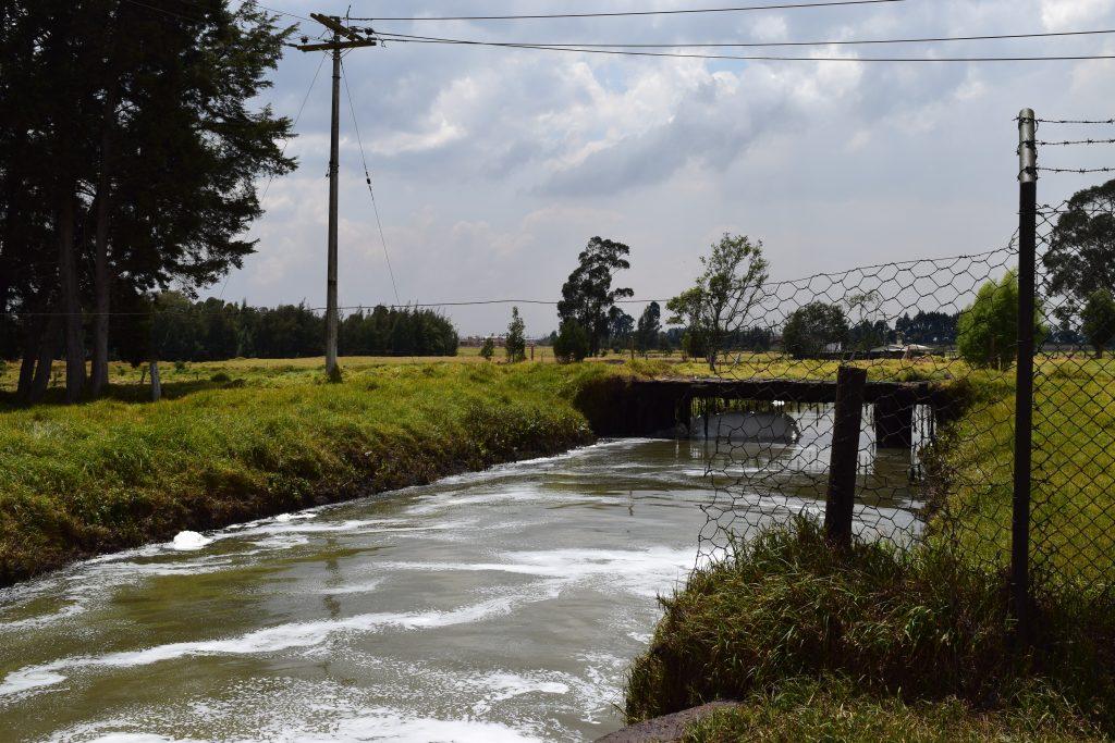 Río Bogotá entre Funza y Engativá