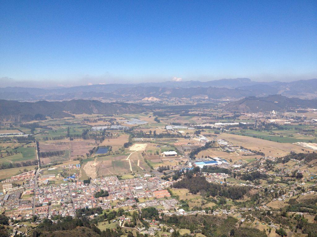 Vista del casco urbano desde el Alto de las Águilas