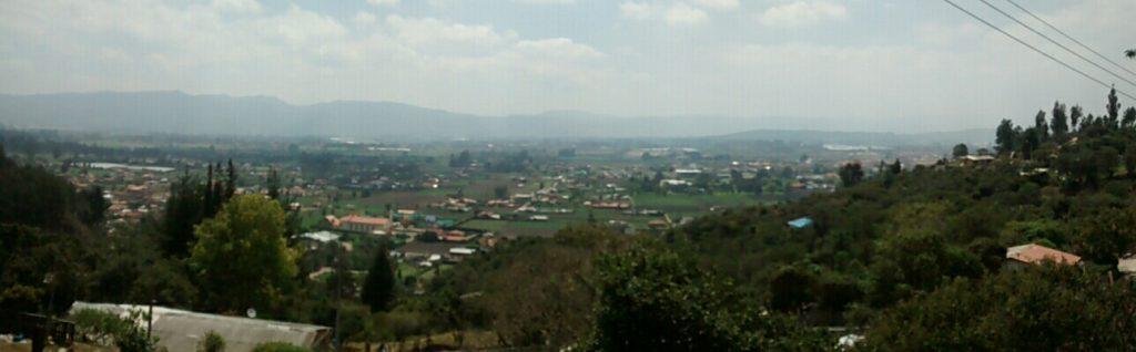 Vista desde el barrio El Pesebre (2)