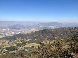 Vista desde el mirador Valle de Sopó