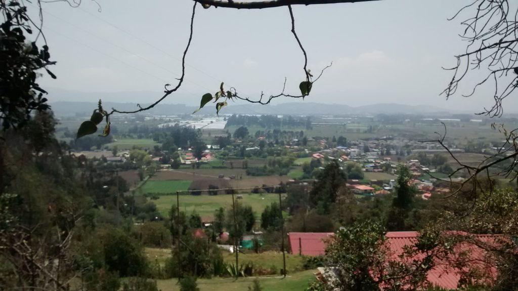 Zona rural al sur del casco urbano