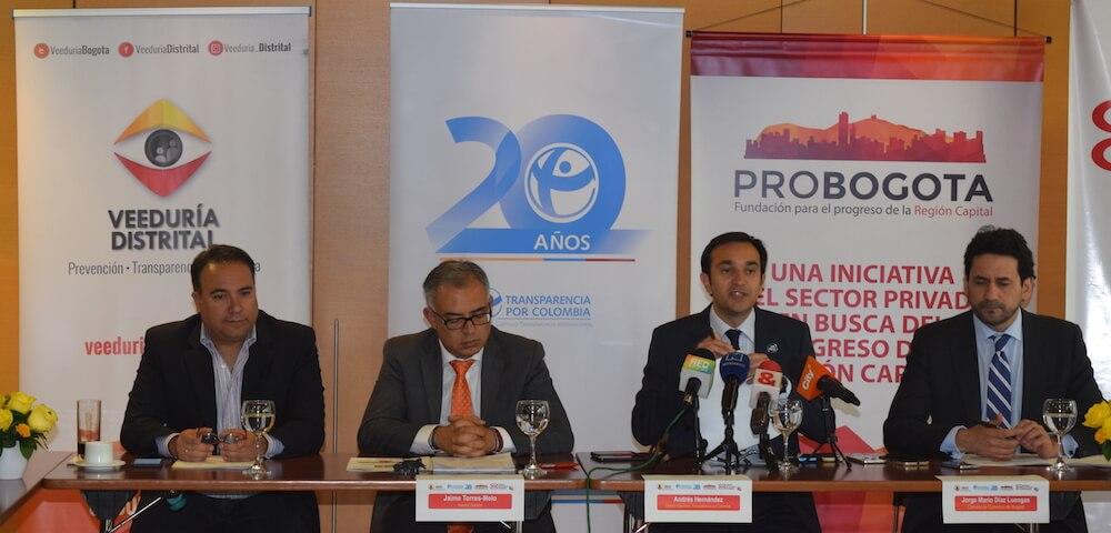 Bogotá mide por primera vez su índice de transparencia:se evidencian riesgos de corrupción en entidades del Distrito