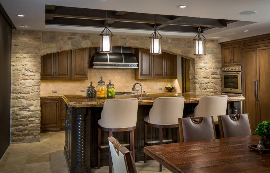 Kitchen of custom home built by Chris O'Grady as Director of Construction at Grady O Grady