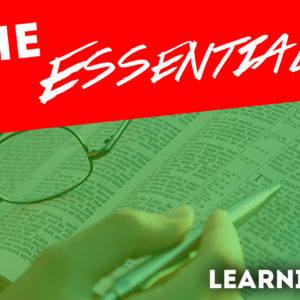 The Essentials – Learning