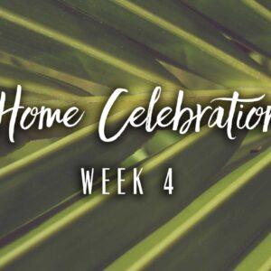 Home Celebration Week 4