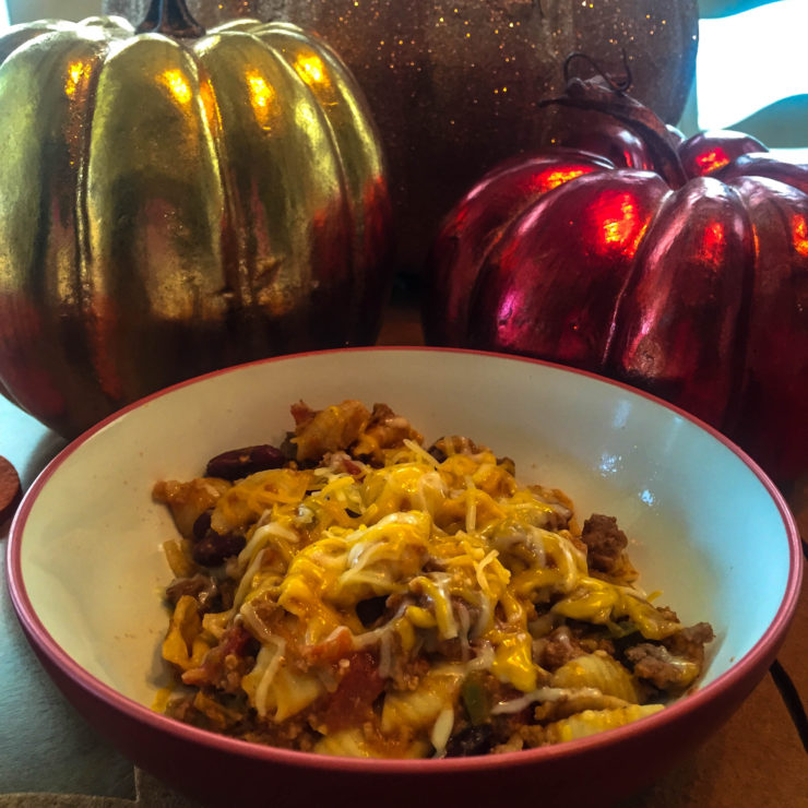 Comfort Foods Collide: Mac & Cheese meets Chili!