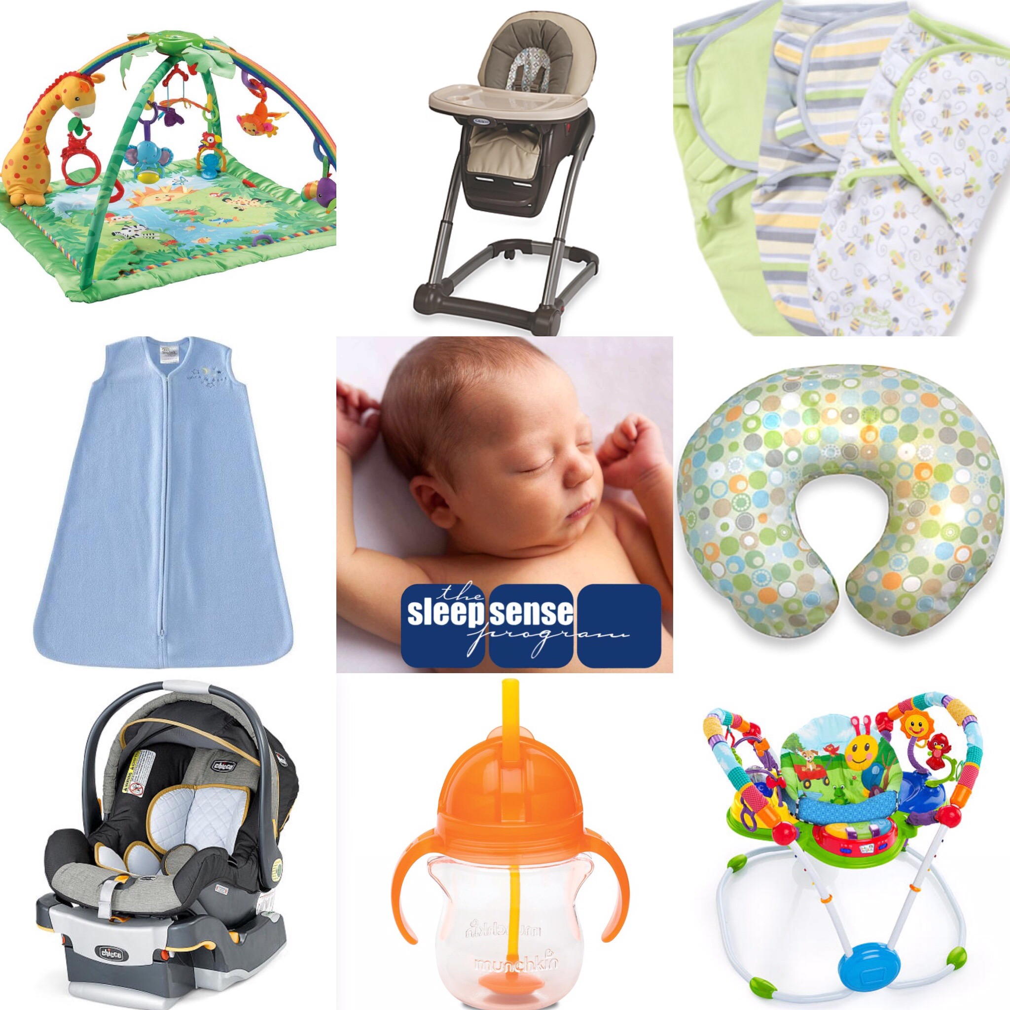 """My 10 """"Must Have"""" Baby Products List"""