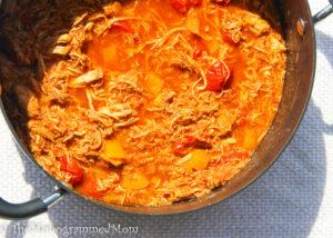 Chicken Taco Soup {Whole30} {Paleo}