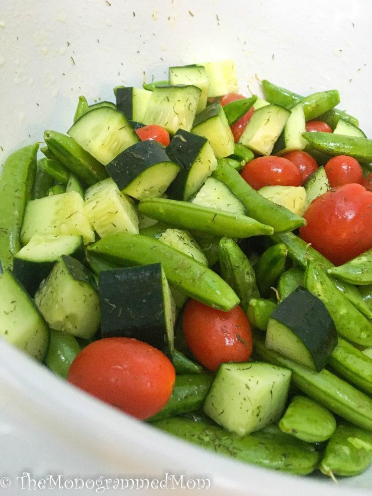 Dill Summer Salad {Whole30} {Paleo}