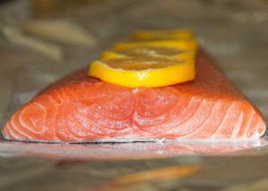 Foil Baked Simple Salmon {Whole30} {Paleo}