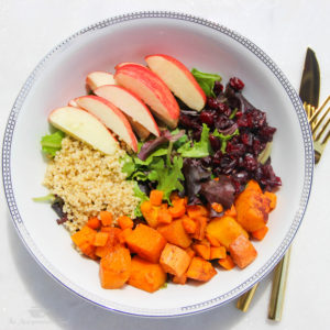 Hearty Harvest Buddha Bowl {Vegan}