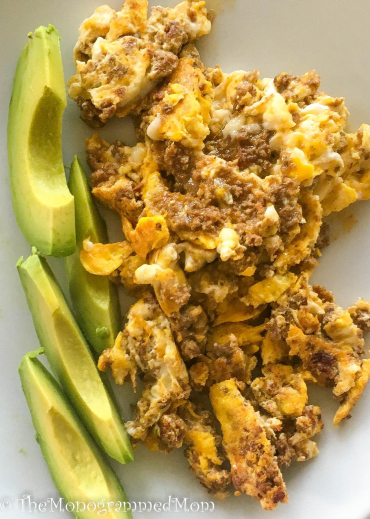 Southwest Scramble {Whole30} {Paleo}