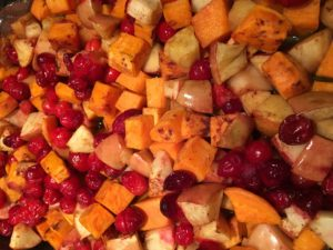 Whole30 Autumn Bake (Sweet Potato, Apple, Cranberry) {Paleo} {Gluten-free}