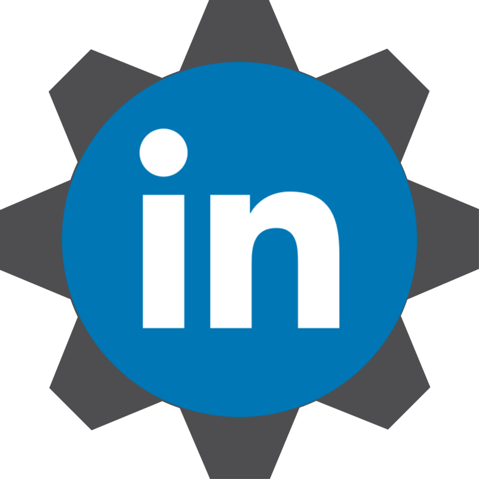 LinkedIn Cog
