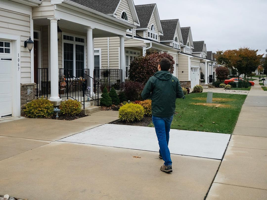 A Way Forward Volunteer Canvassing In October, 2018.