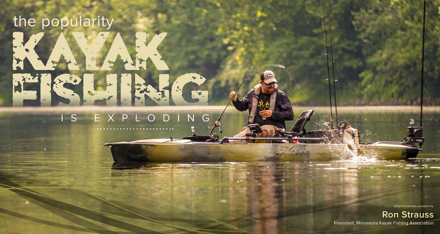 The Popularity Of Kayak Fishing Is Exploding