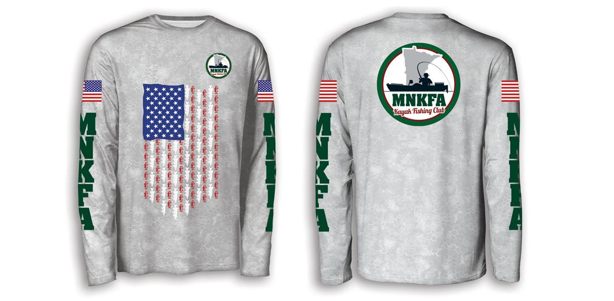 2021 MNKFA Kayak Fishing Shirts